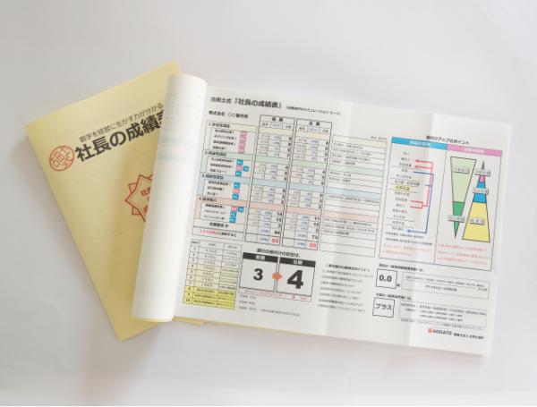社長の成績表(決算書 財務分析資料 )の作成