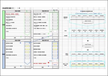資金運用計画表